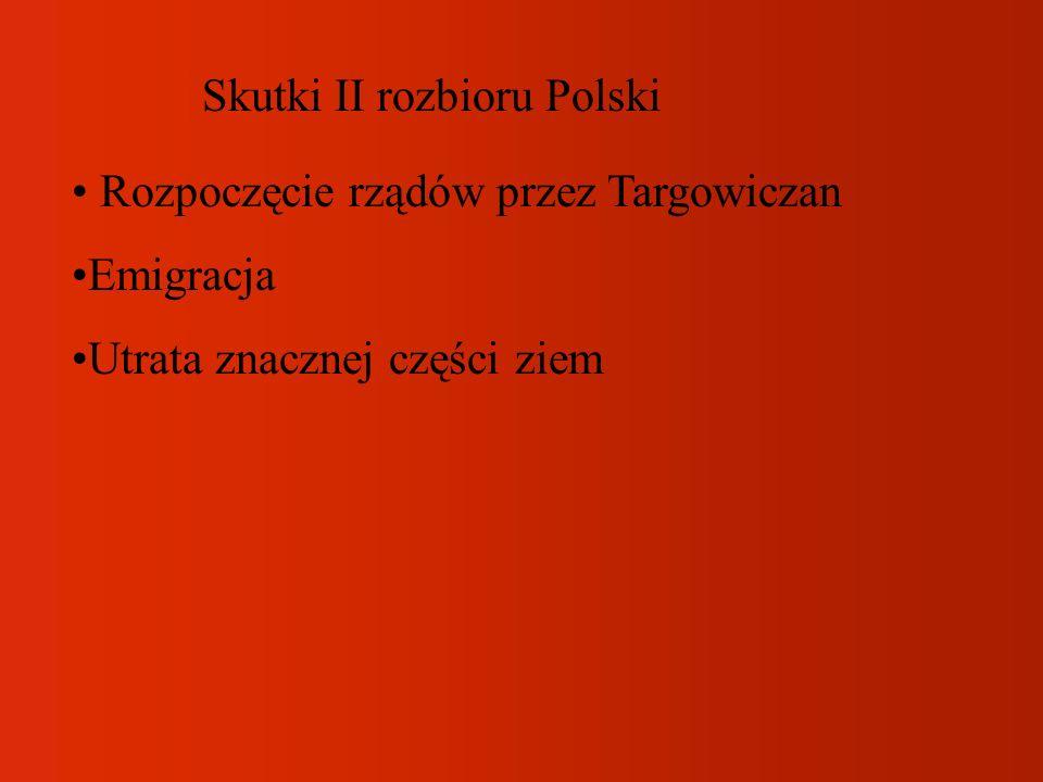 Skutki II rozbioru Polski