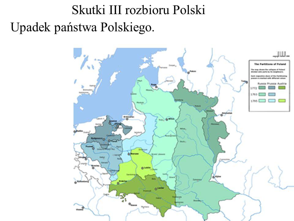 Skutki III rozbioru Polski