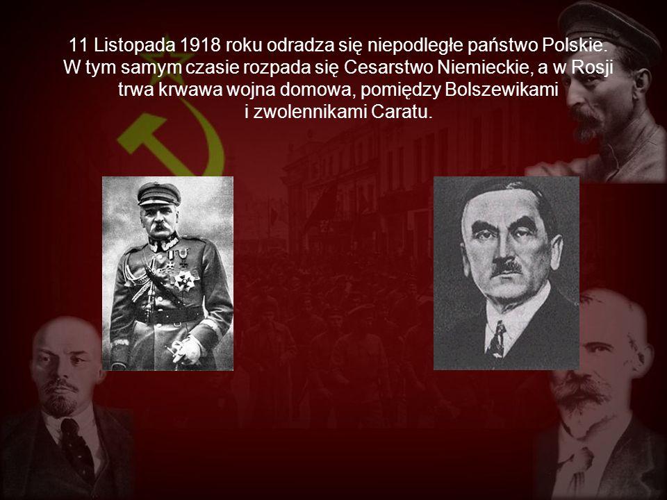 11 Listopada 1918 roku odradza się niepodległe państwo Polskie