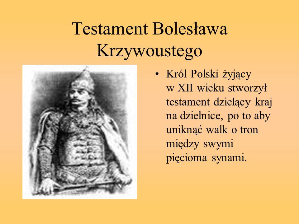 Testament Bolesława Krzywoustego