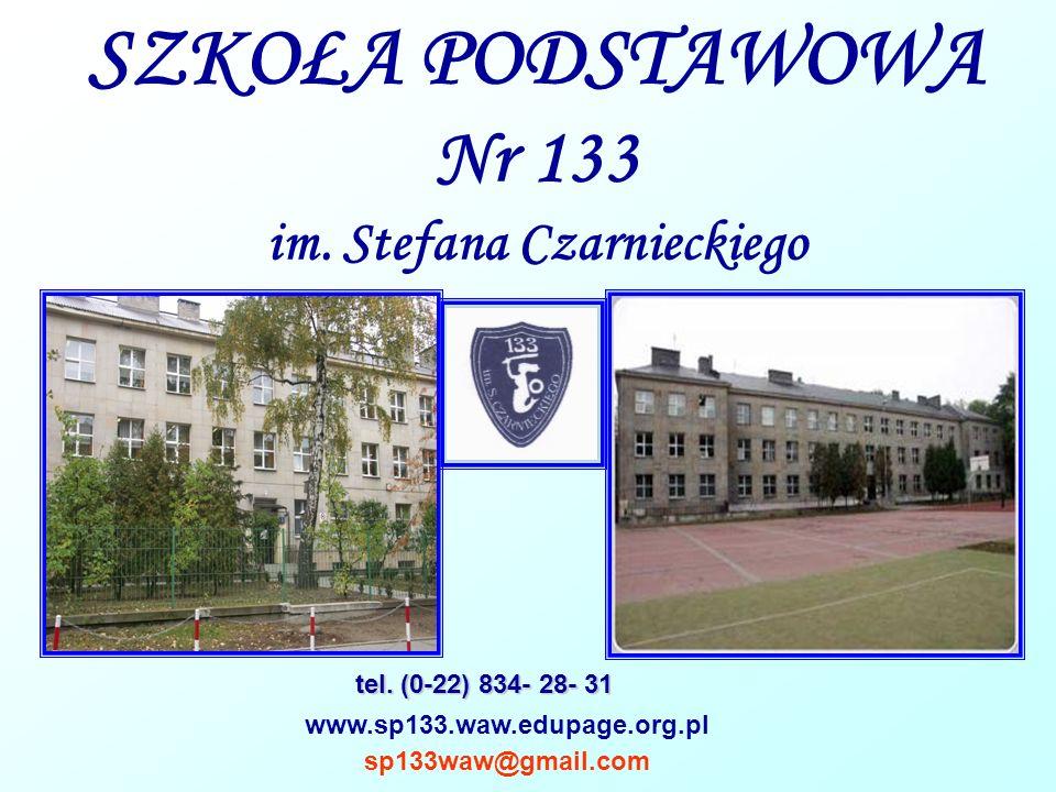 SZKOŁA PODSTAWOWA Nr 133 im. Stefana Czarnieckiego