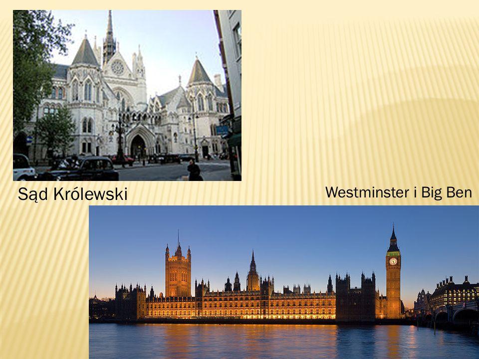 Sąd Królewski Westminster i Big Ben