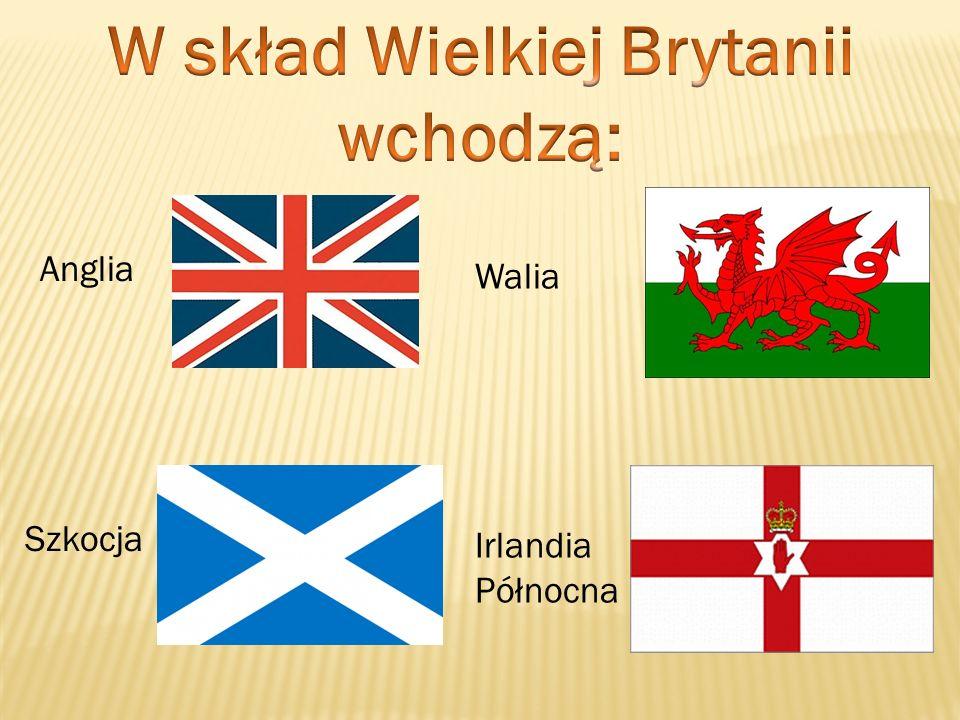W skład Wielkiej Brytanii wchodzą: