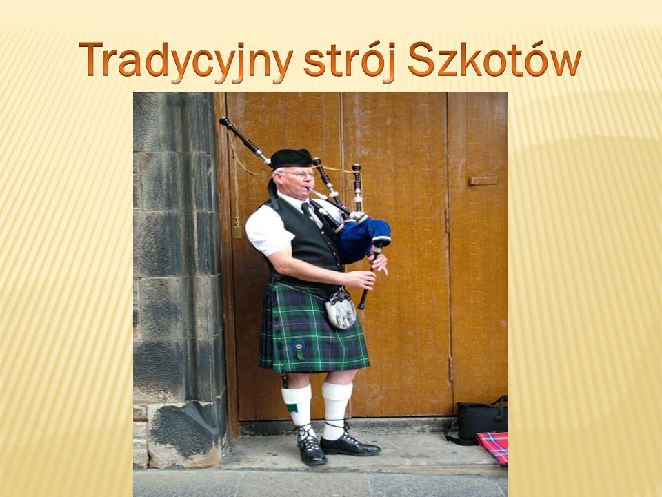 Tradycyjny strój Szkotów