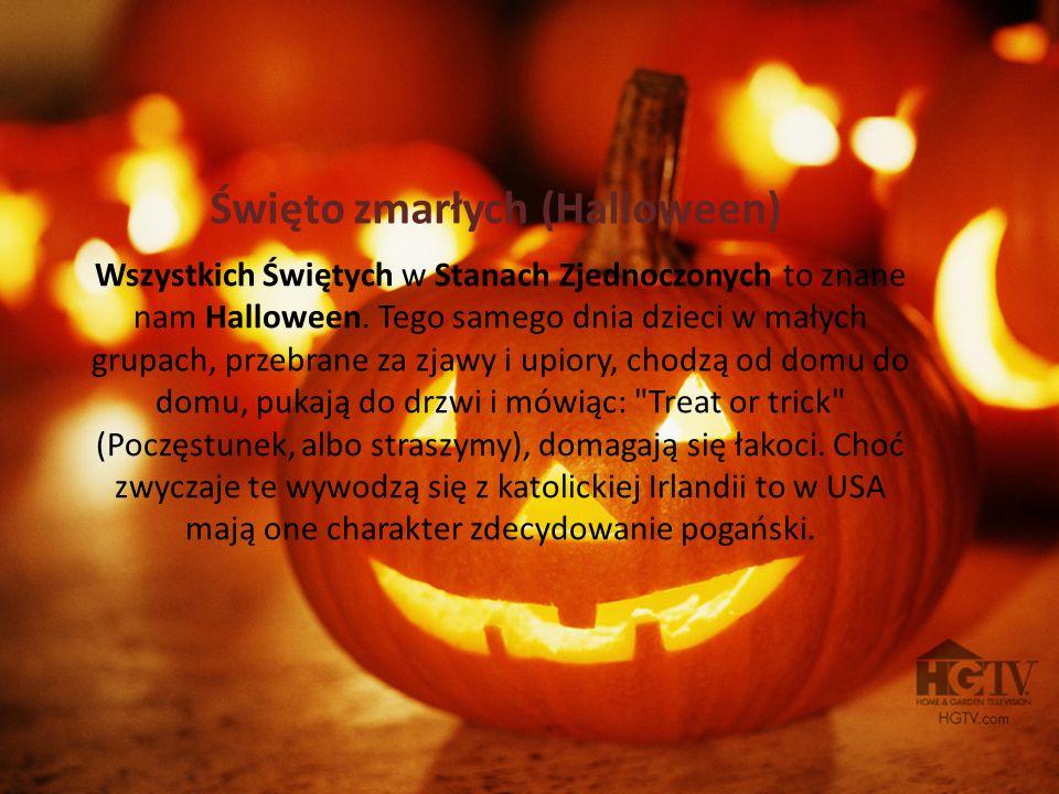 Święto zmarłych (Halloween)
