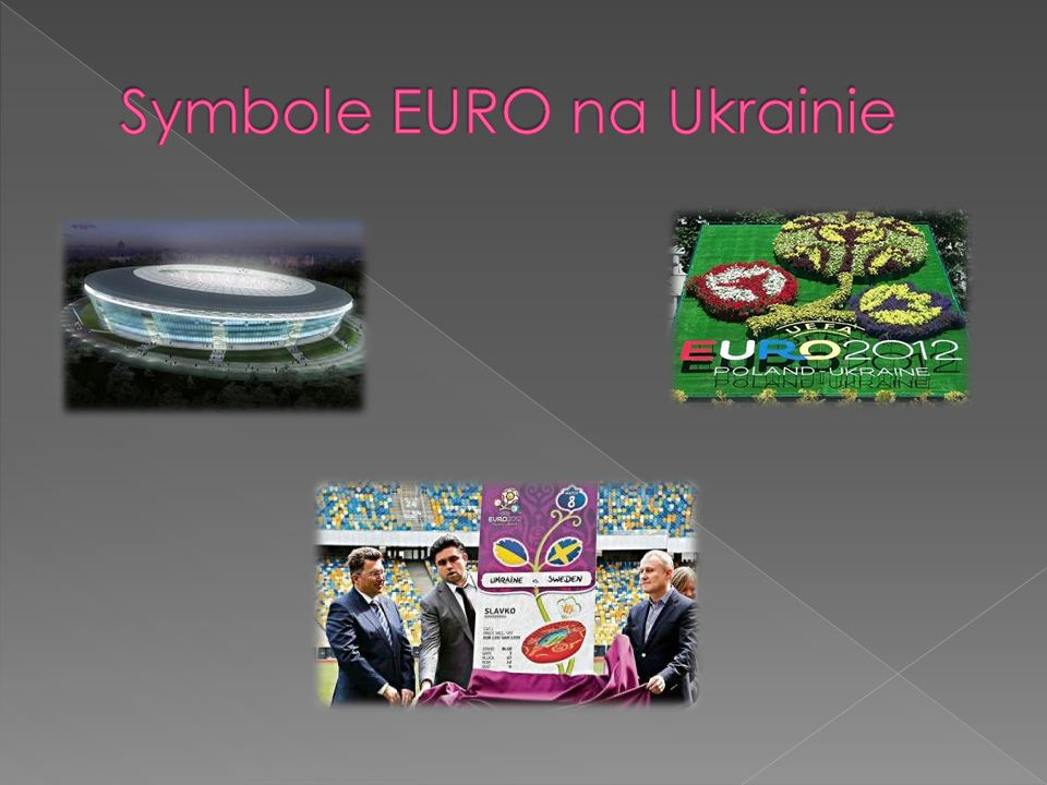 Symbole EURO na Ukrainie