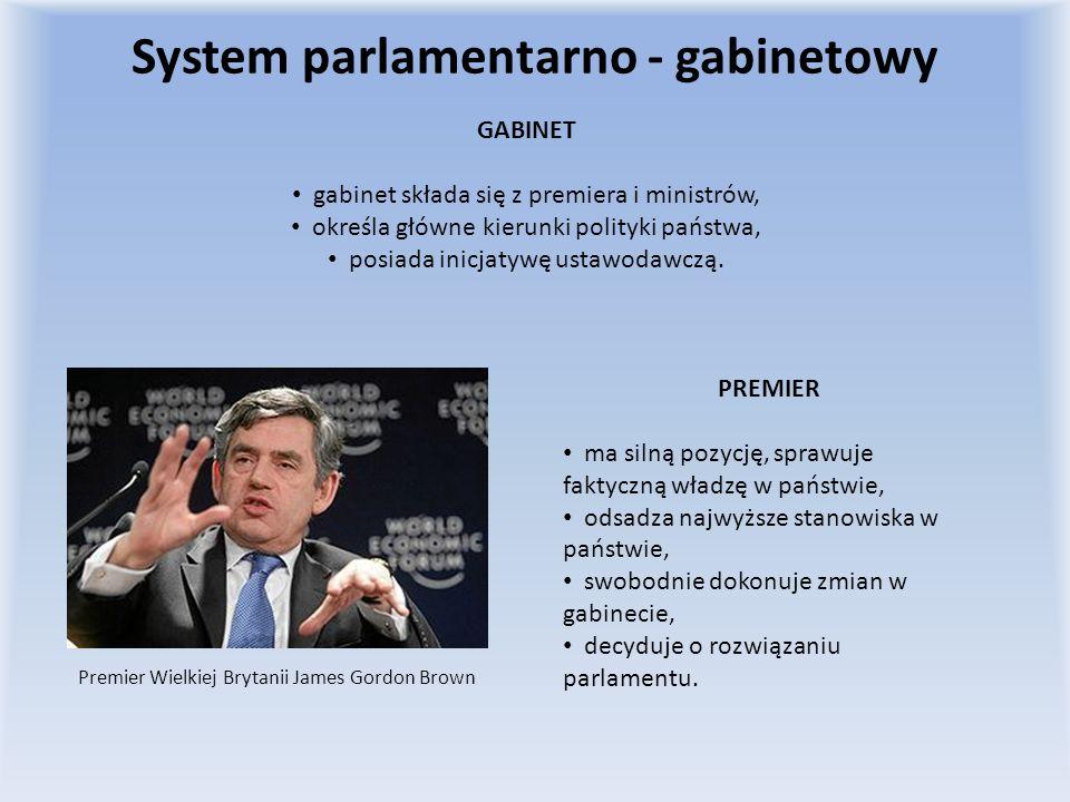 System parlamentarno - gabinetowy
