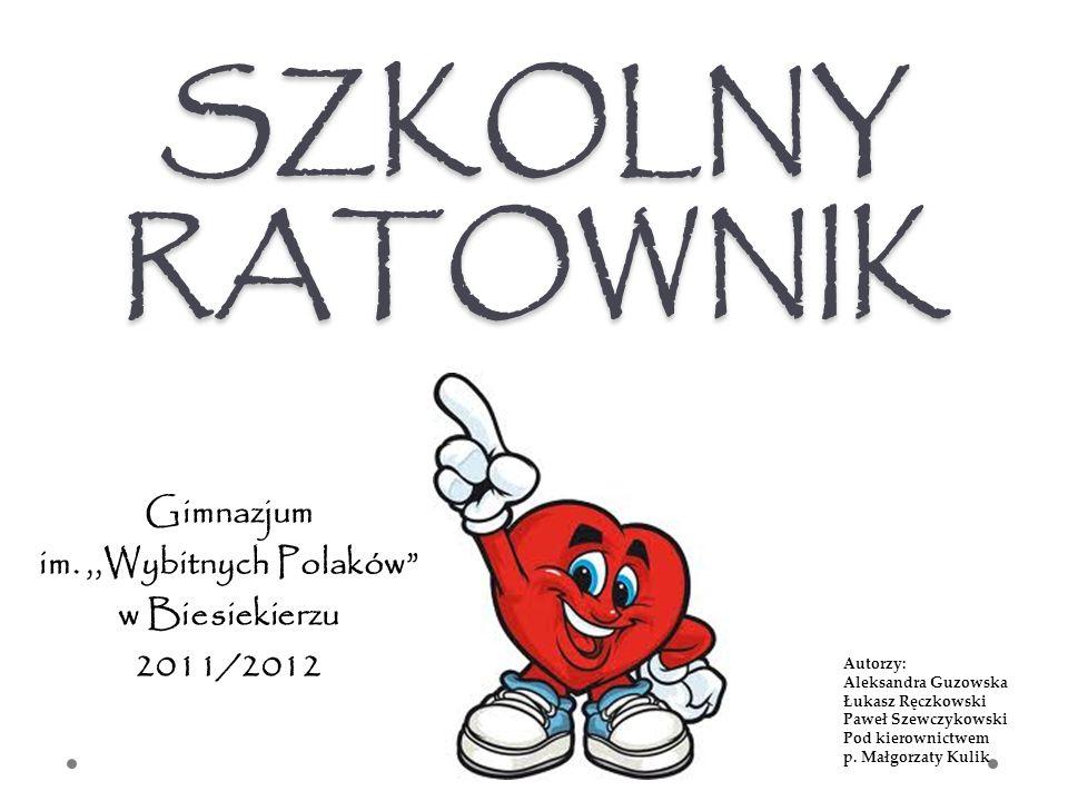 Gimnazjum im. ,,Wybitnych Polaków w Biesiekierzu 2011/2012