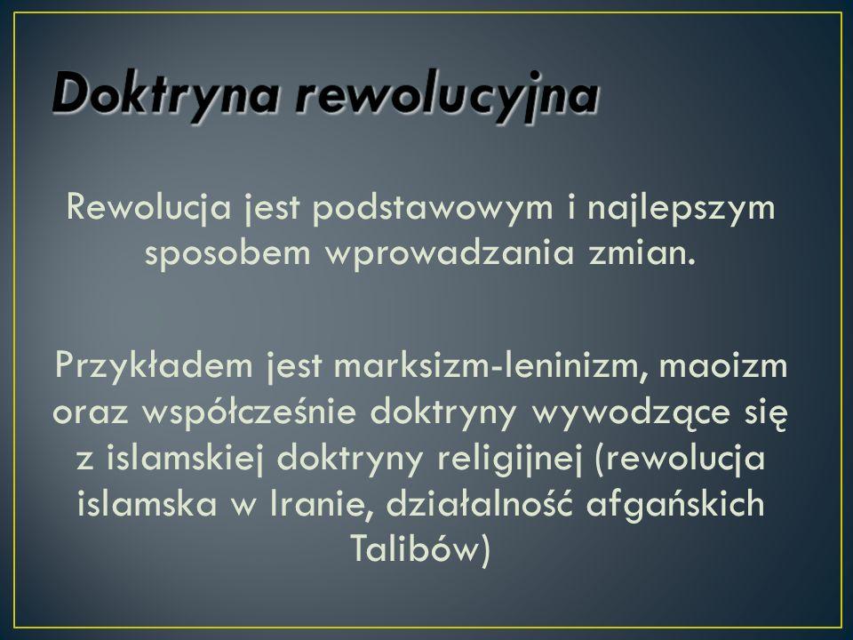 Doktryna rewolucyjna