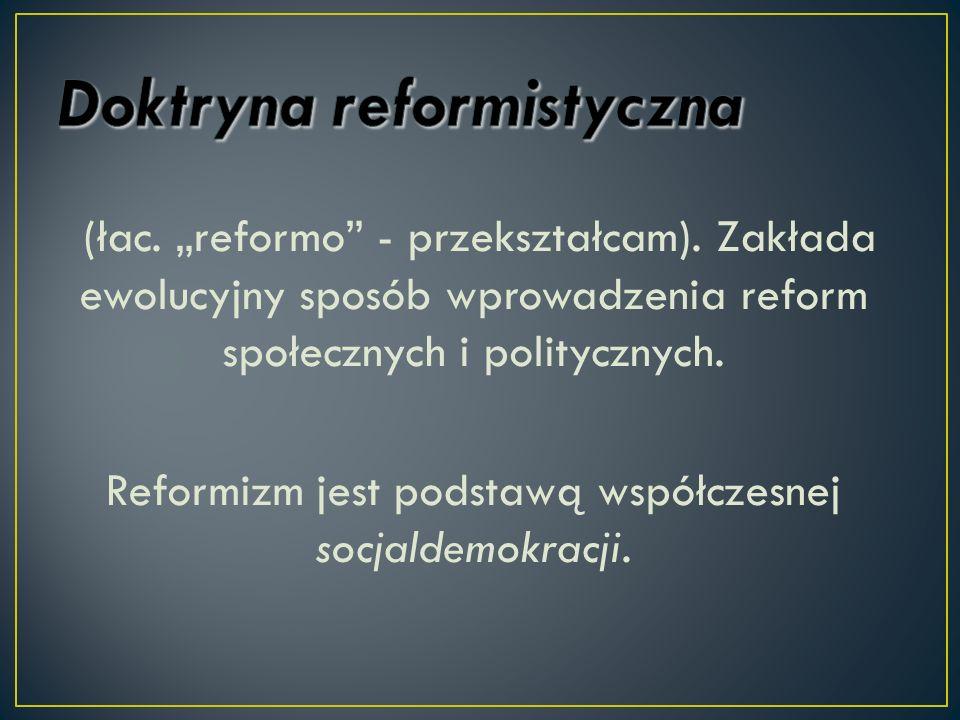 Doktryna reformistyczna