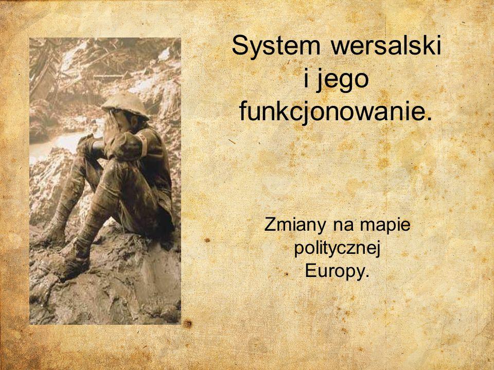 System wersalski i jego funkcjonowanie.