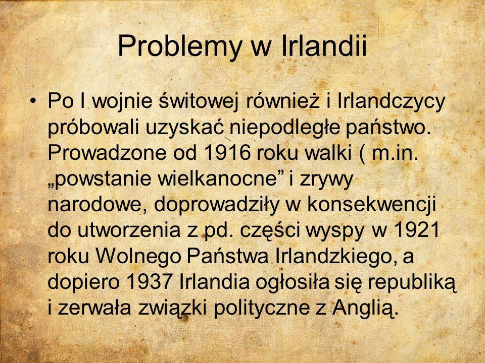 Problemy w Irlandii