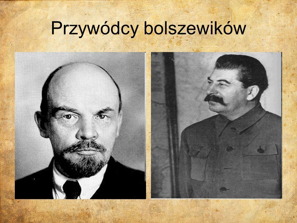 Przywódcy bolszewików