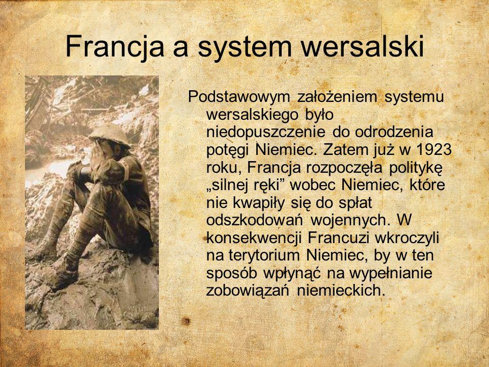 Francja a system wersalski
