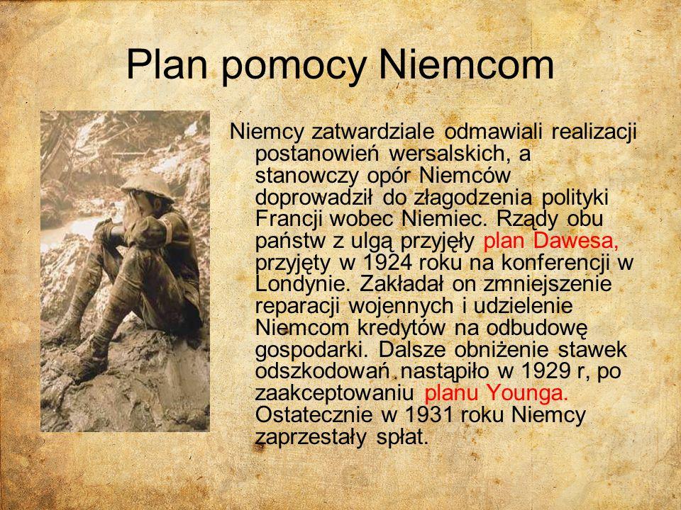 Plan pomocy Niemcom