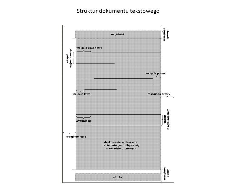 Struktur dokumentu tekstowego