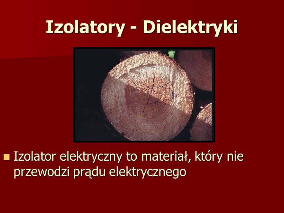 Izolatory - Dielektryki
