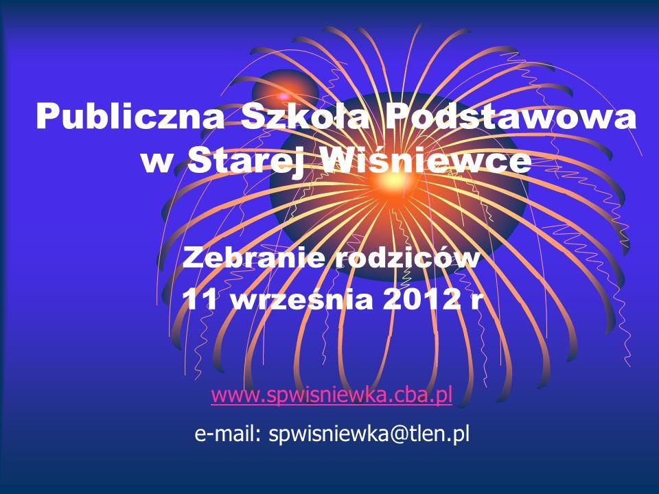 Publiczna Szkoła Podstawowa w Starej Wiśniewce
