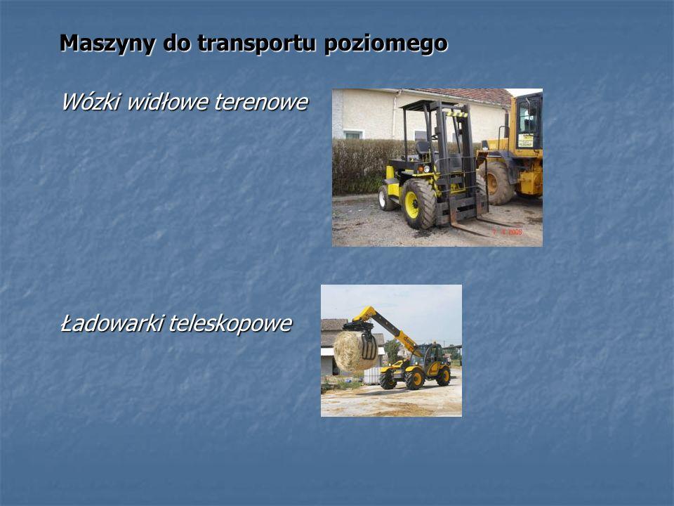 Maszyny do transportu poziomego
