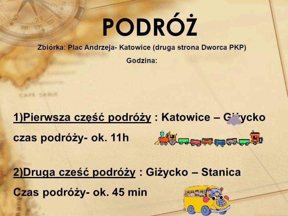 Zbiórka: Plac Andrzeja- Katowice (druga strona Dworca PKP)