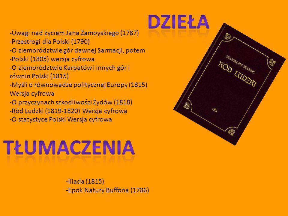 -Uwagi nad życiem Jana Zamoyskiego (1787)