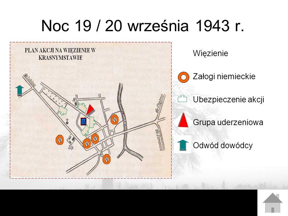 Noc 19 / 20 września 1943 r. Więzienie Załogi niemieckie