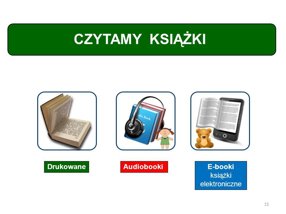 E-booki książki elektroniczne