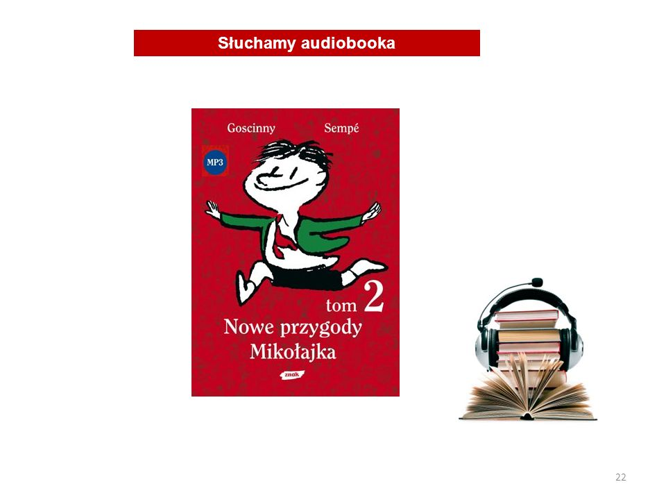 Słuchamy audiobooka