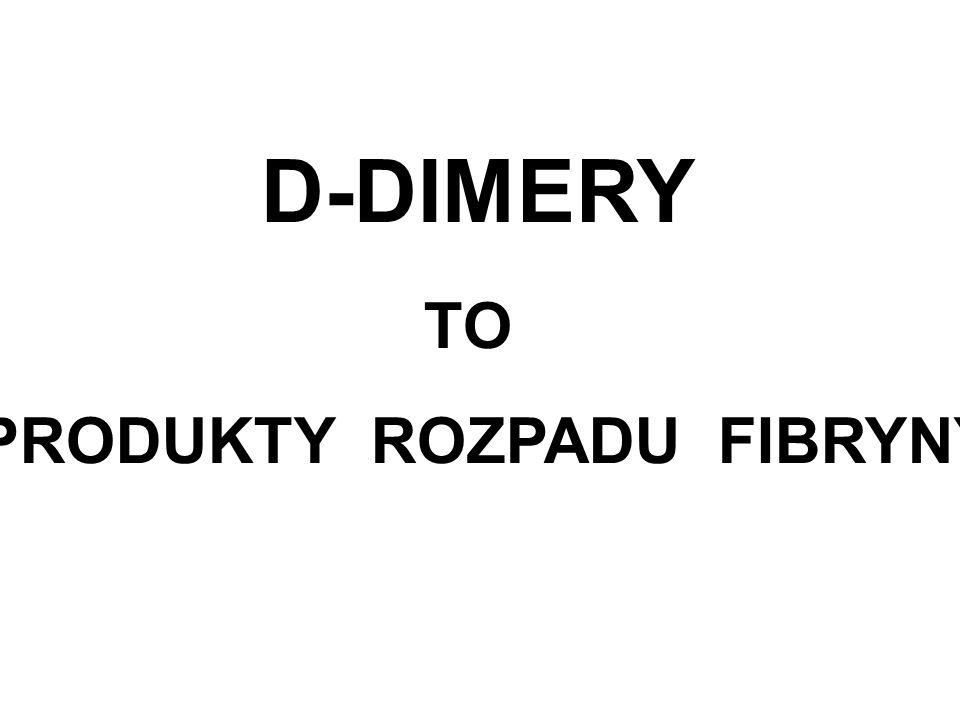 PRODUKTY ROZPADU FIBRYNY