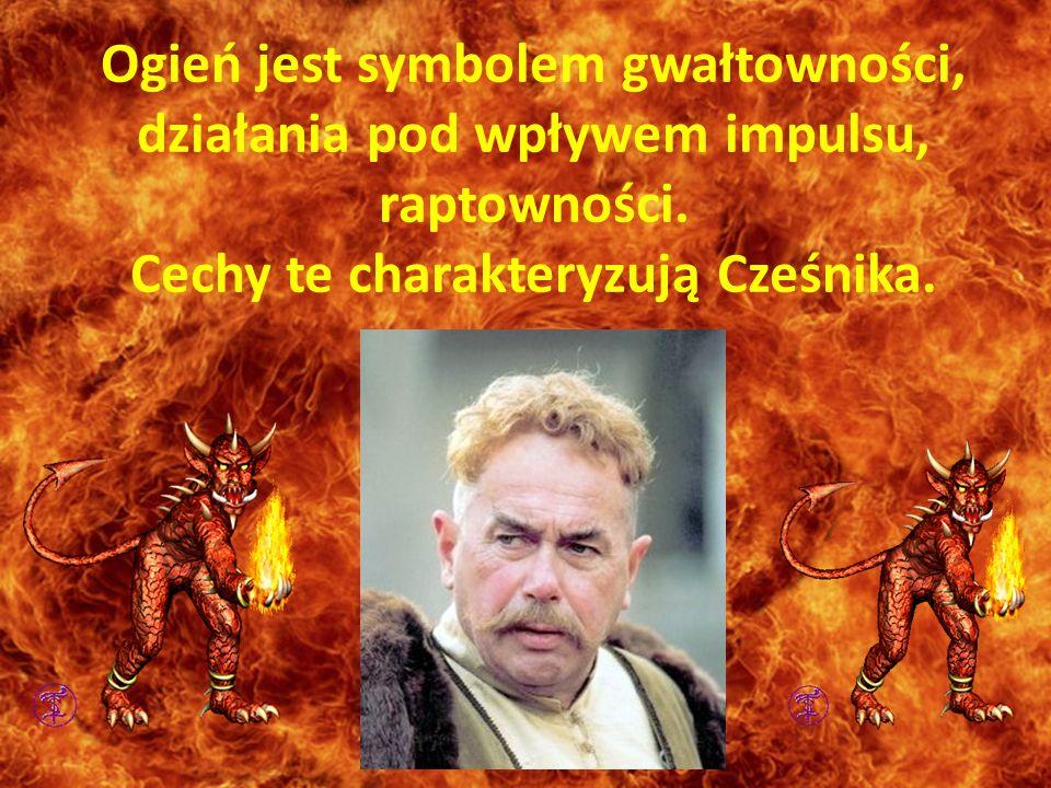 Cechy te charakteryzują Cześnika.