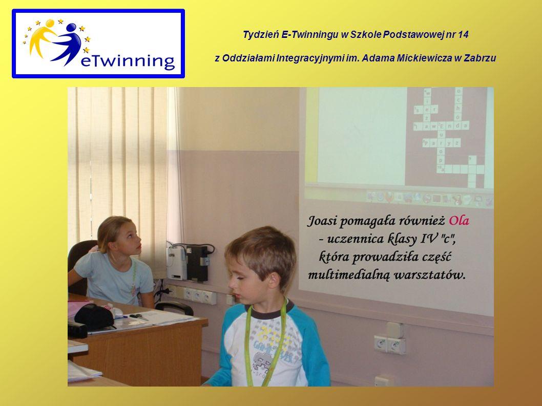 Tydzień E-Twinningu w Szkole Podstawowej nr 14