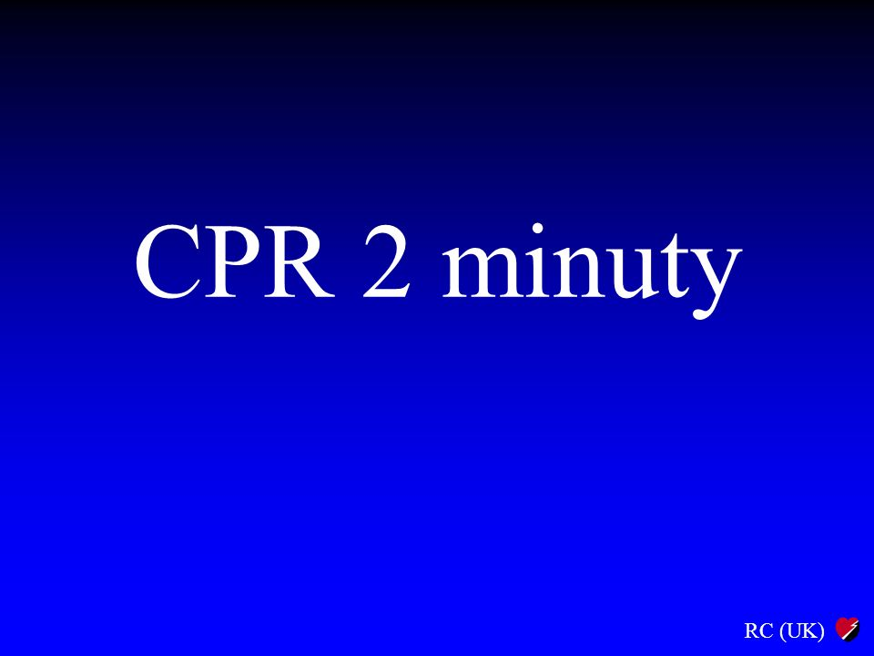 CPR 2 minuty