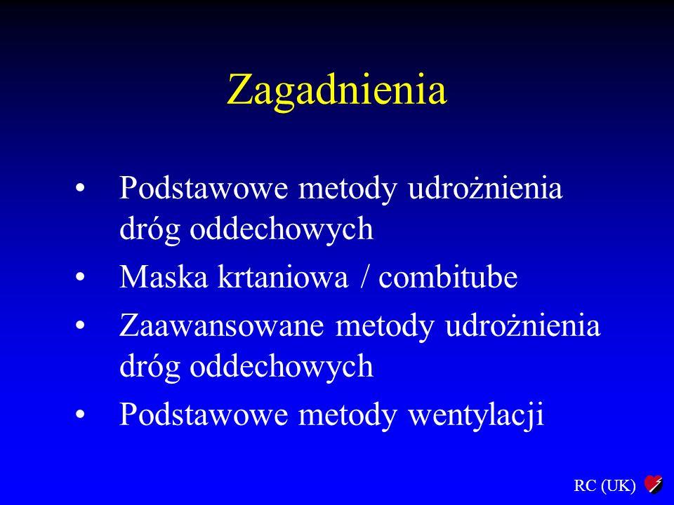 Zagadnienia Podstawowe metody udrożnienia dróg oddechowych