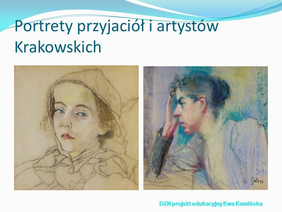 Portrety przyjaciół i artystów Krakowskich