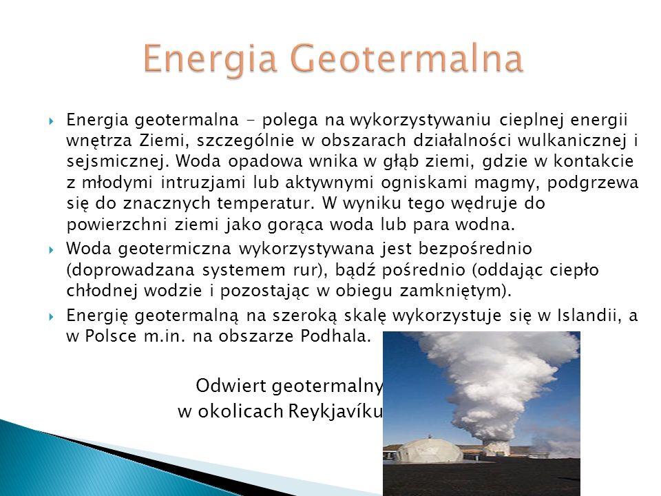 Energia Geotermalna w okolicach Reykjavíku