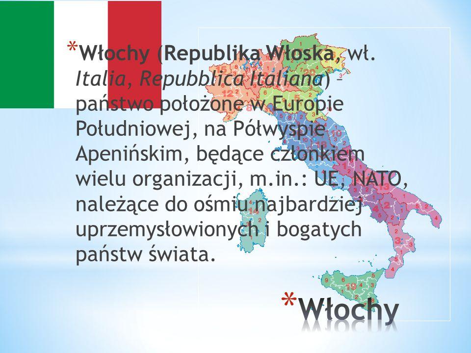 Włochy (Republika Włoska, wł