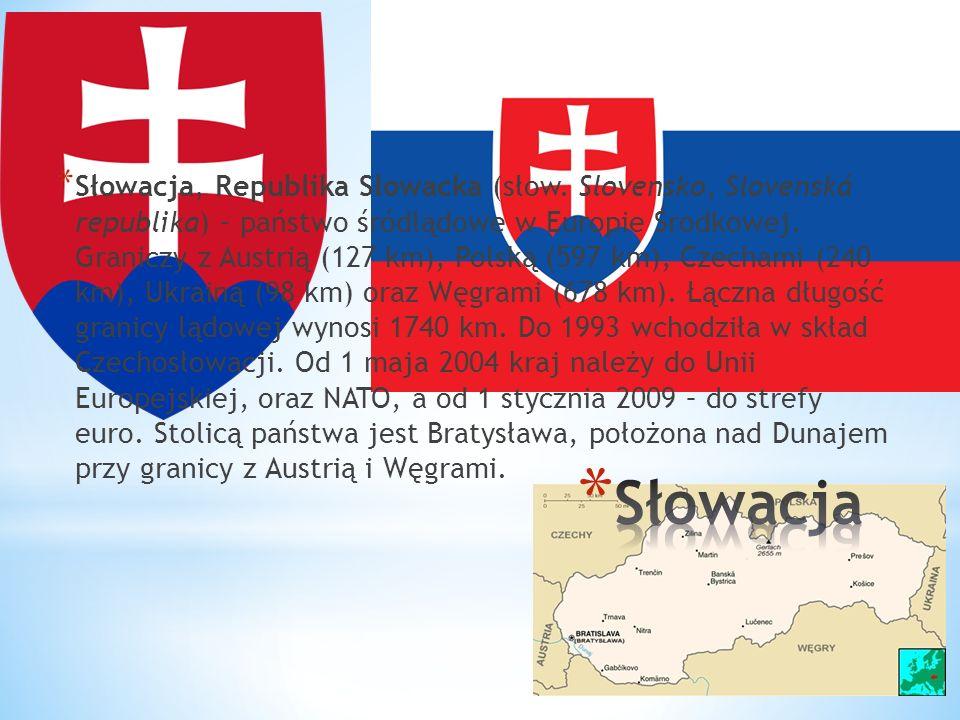 Słowacja, Republika Słowacka (słow