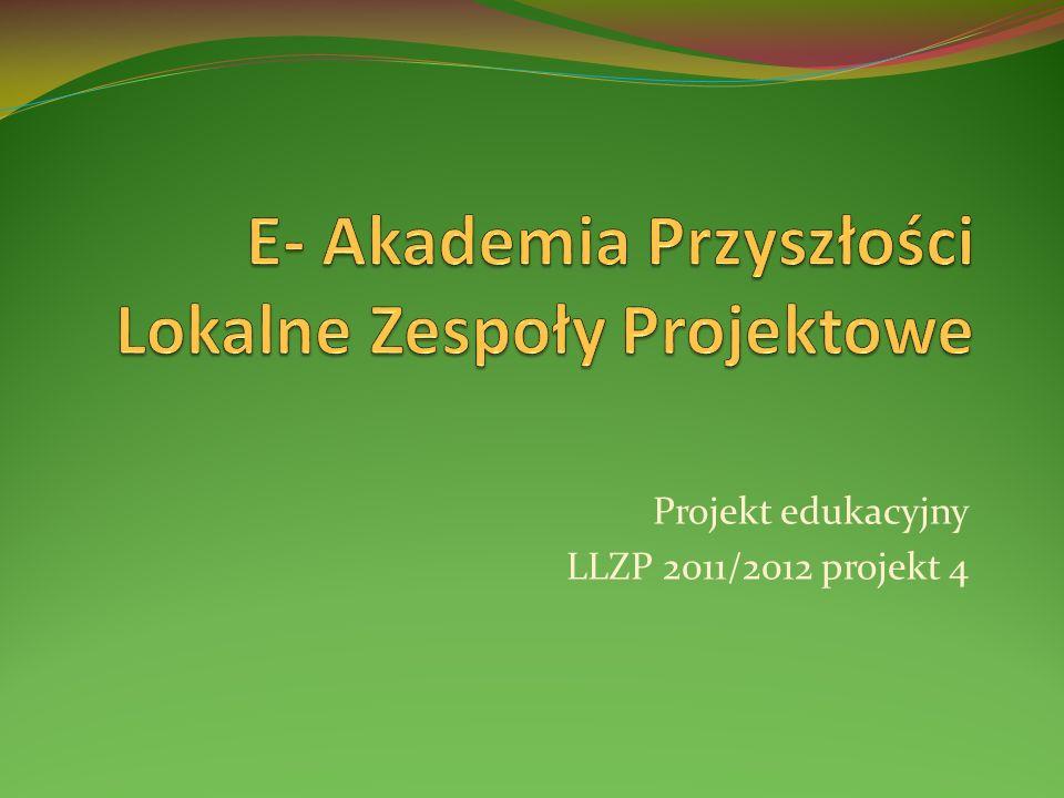 E- Akademia Przyszłości Lokalne Zespoły Projektowe