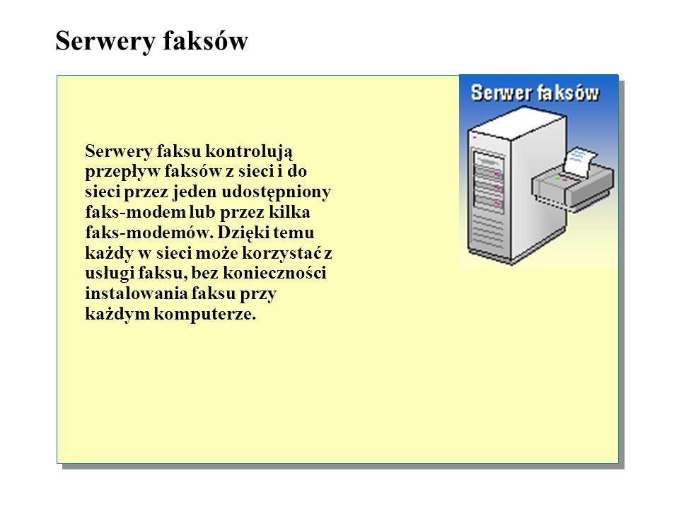 Serwery faksów