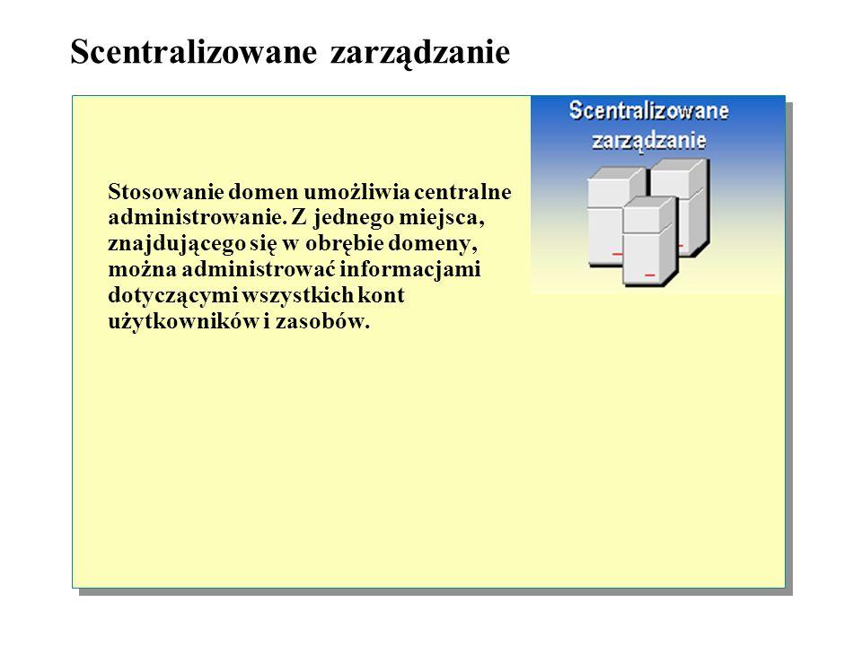 Scentralizowane zarządzanie