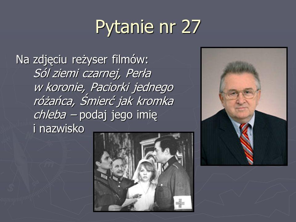 Pytanie nr 27