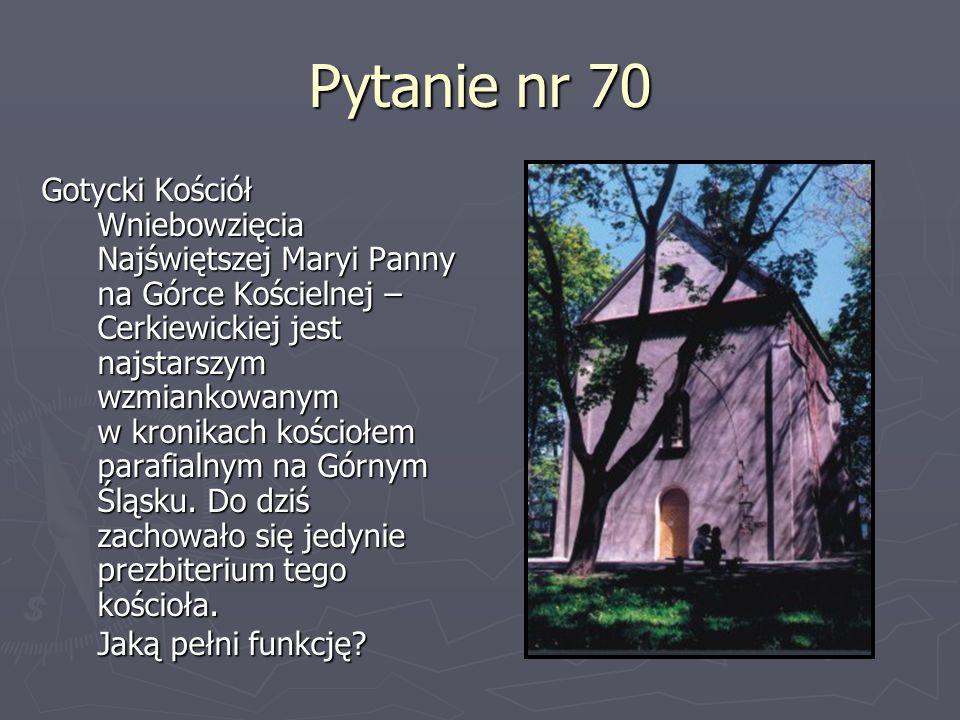 Pytanie nr 70