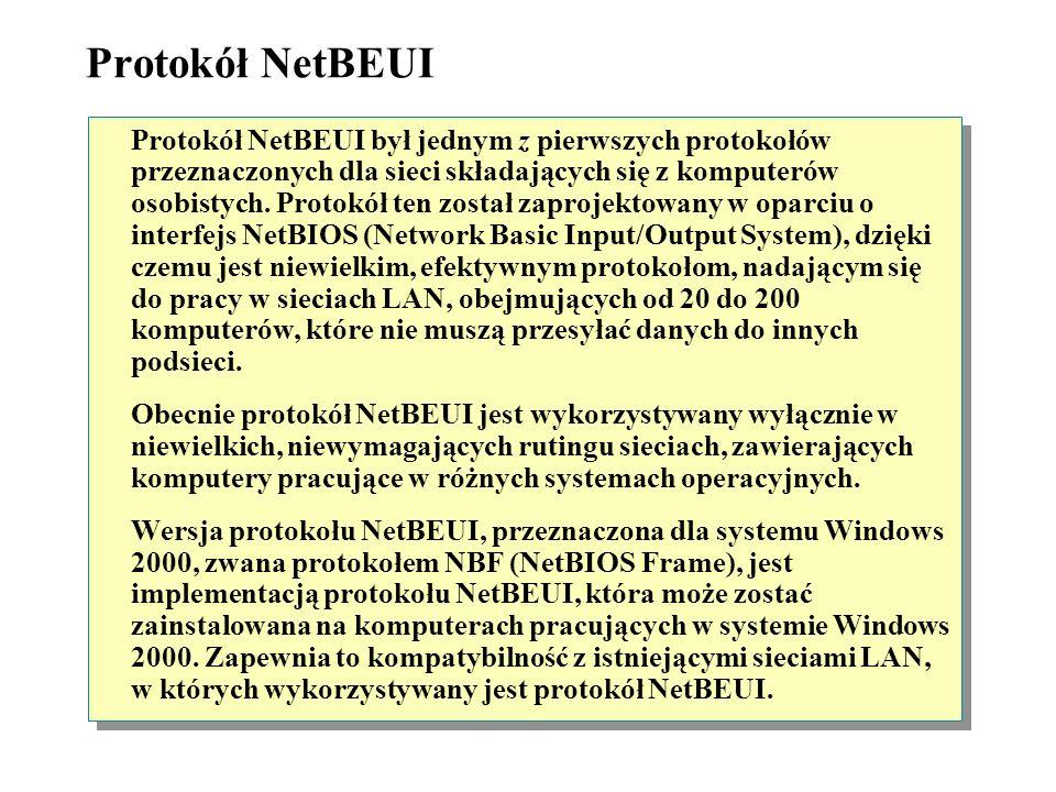 Protokół NetBEUI