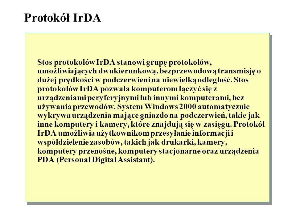 Protokół IrDA