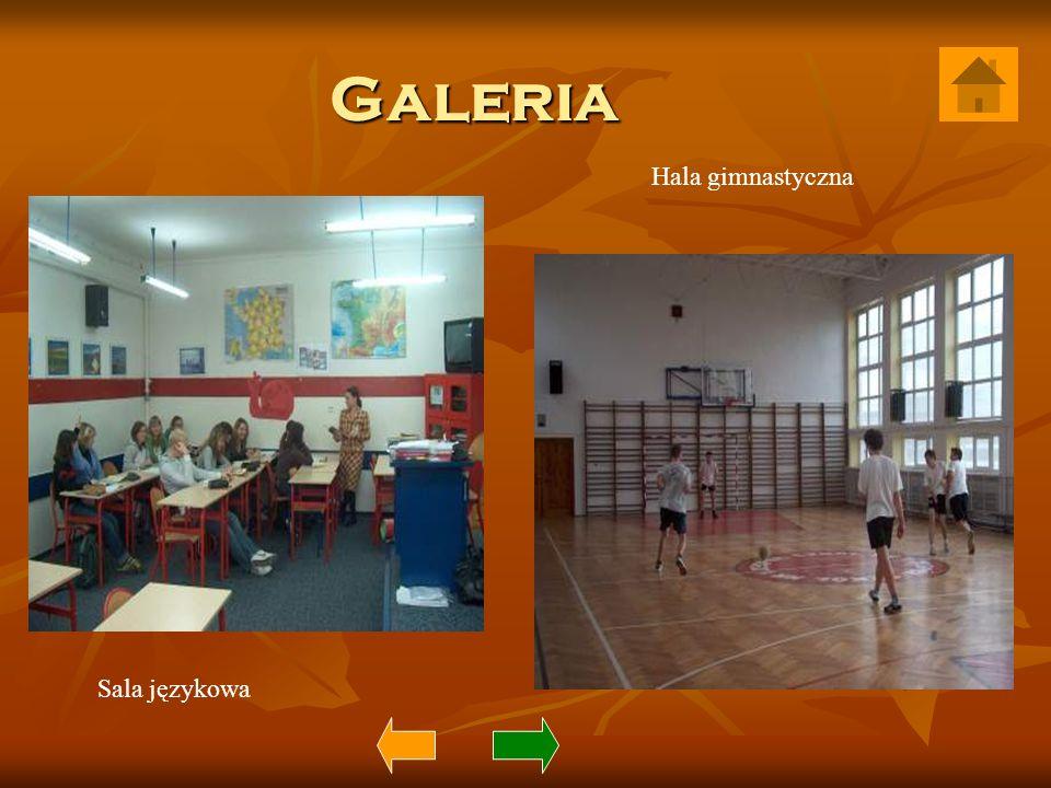 Galeria Hala gimnastyczna Sala językowa