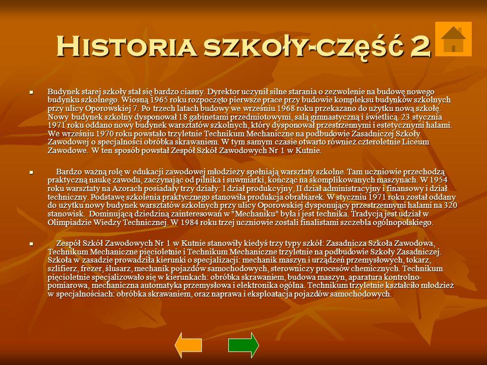Historia szkoły-część 2