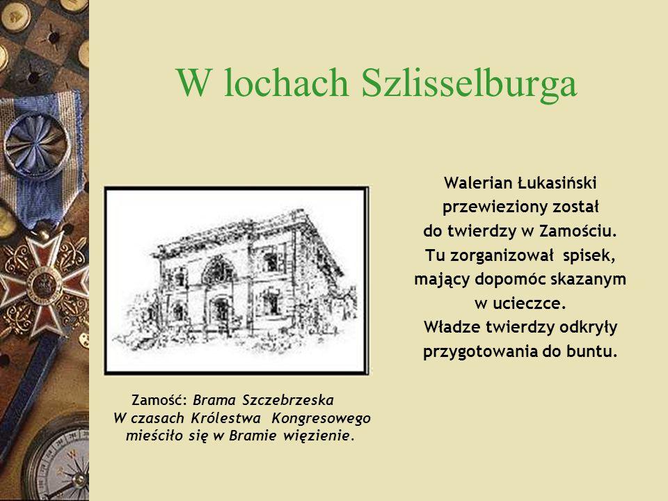 W lochach Szlisselburga