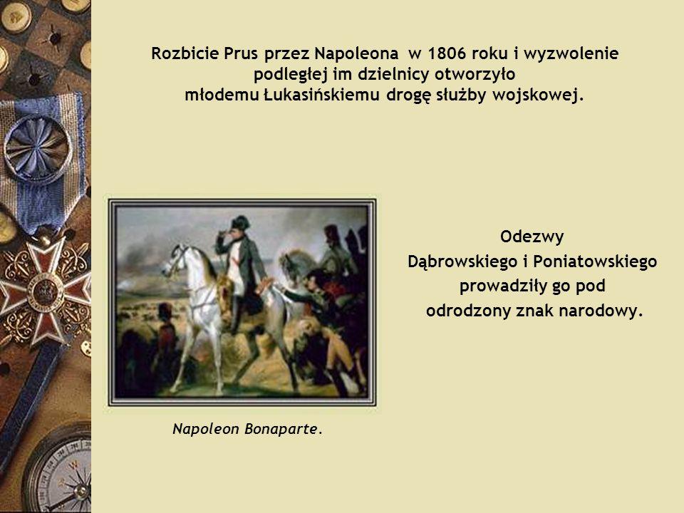 Dąbrowskiego i Poniatowskiego odrodzony znak narodowy.