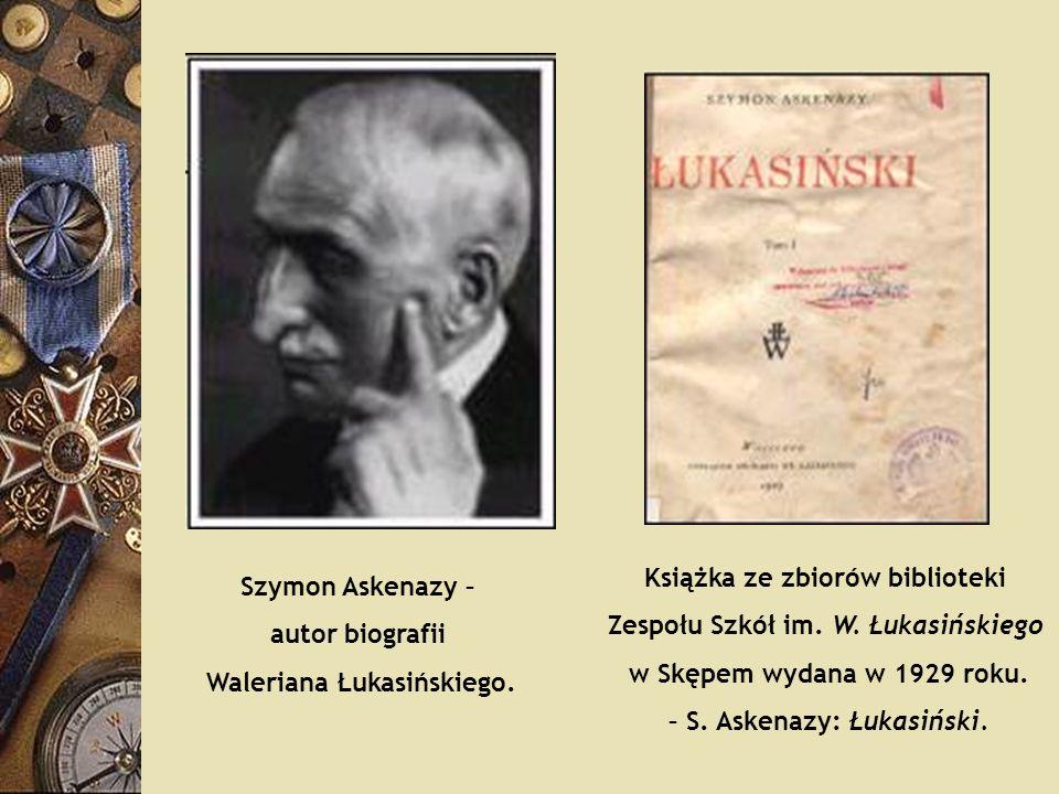 Książka ze zbiorów biblioteki Zespołu Szkół im. W. Łukasińskiego