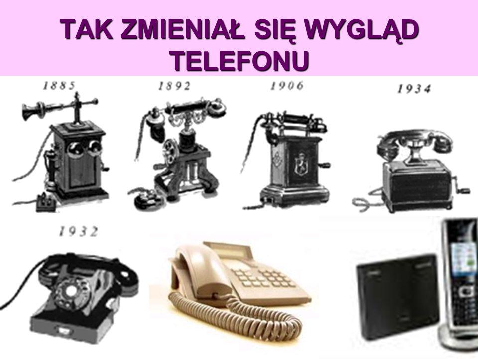 TAK ZMIENIAŁ SIĘ WYGLĄD TELEFONU